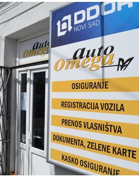 Resgistracija I Osiguranje Vozila Auto Omega Zemun Poslovne Strane