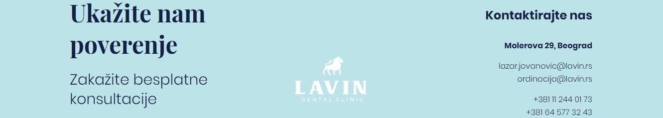 lavin dental clinic stomatološka ordinacija