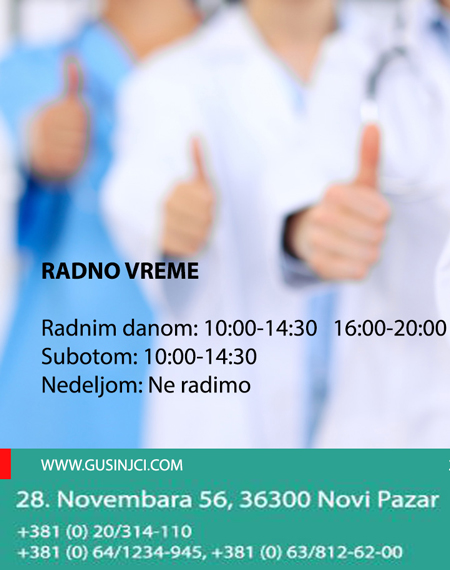 stomatološka ordinacija gusinjci novi pazar