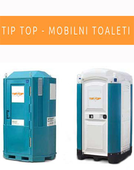 tip top mobilni toaleti