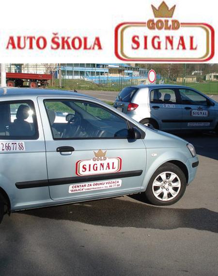 auto škola gold signal