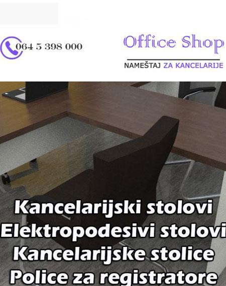 prodaja kancelarijskog nameštaja office shop beograd