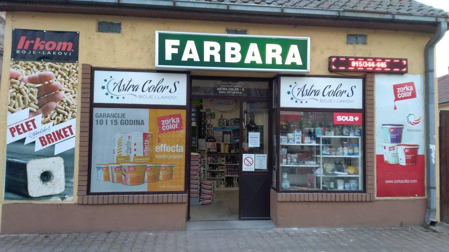 farbara astra color-s šabac