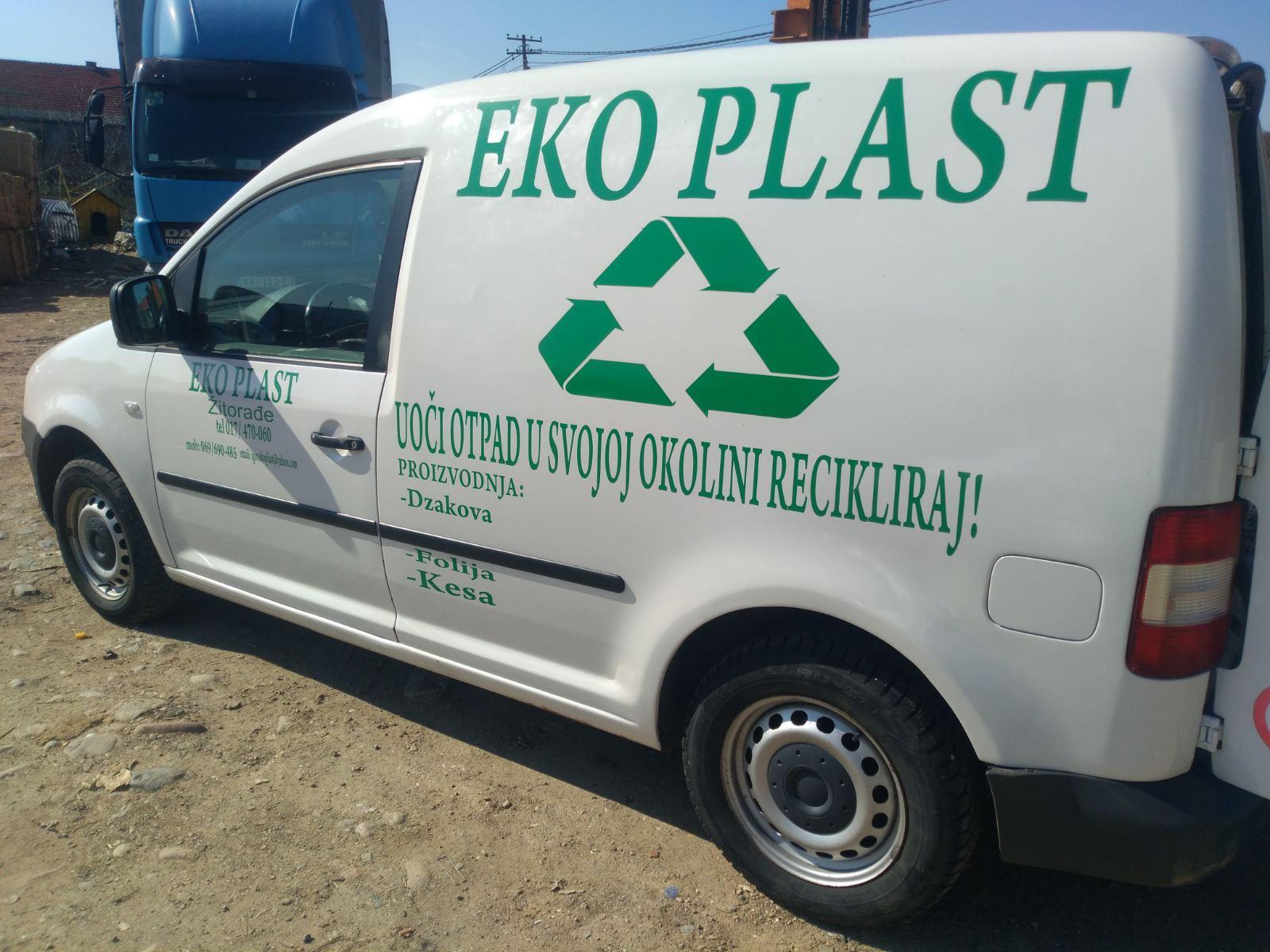 Eko Plast doo reciklaža plastike folije i pet ambalaže Vladičin Han